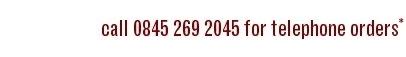 Telephone 0845 269 2045