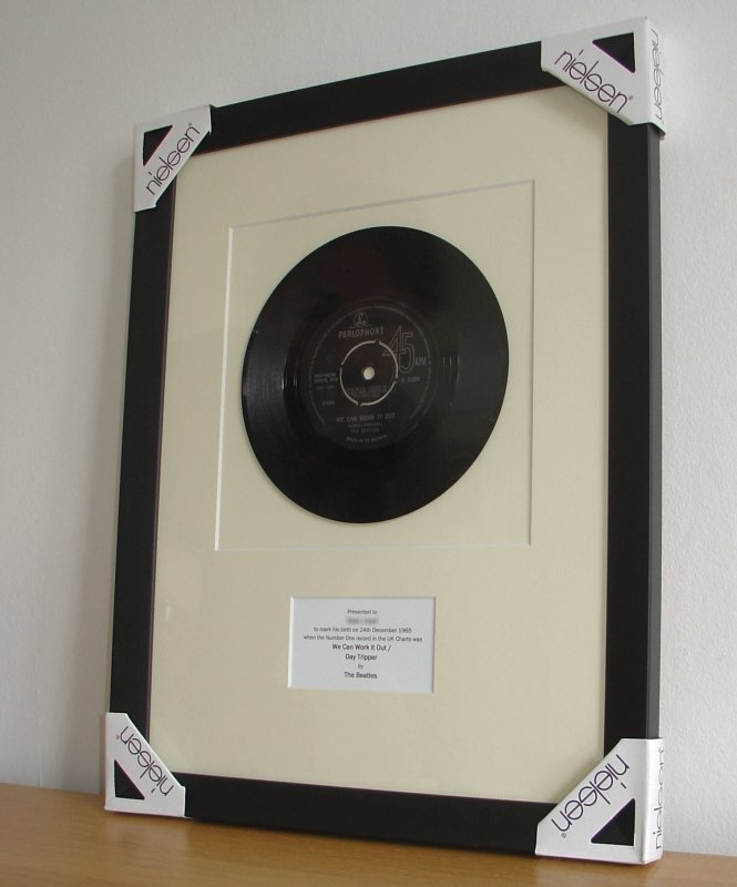 The Beatles We Can Work It Out December 1965 Framed