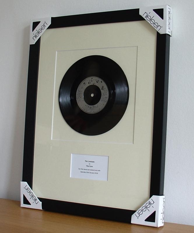 Cure Lovecats Framed Vinyl