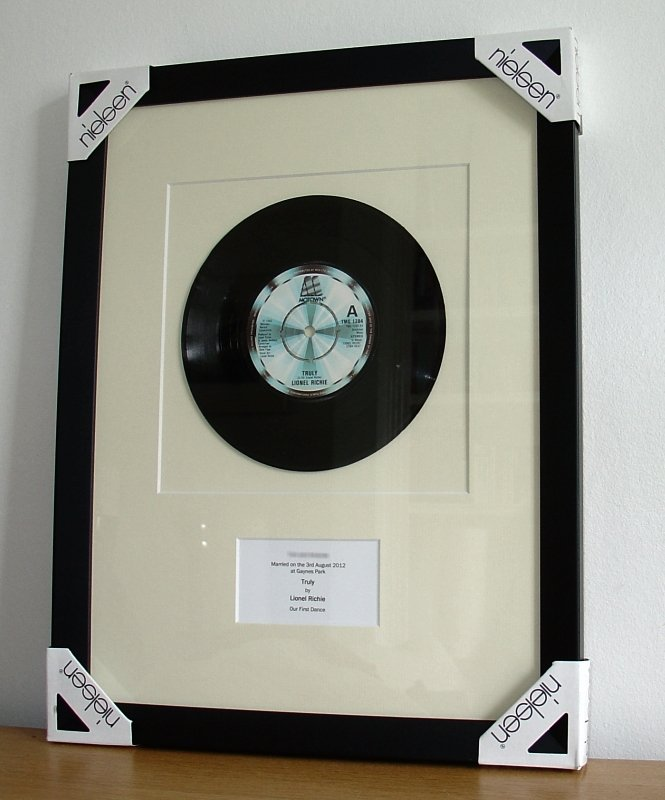 Lionel Richie Truly Framed Vinyl