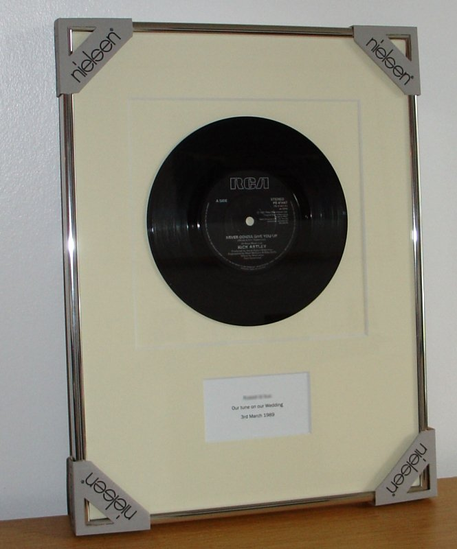 7 Inch Single Record Frames