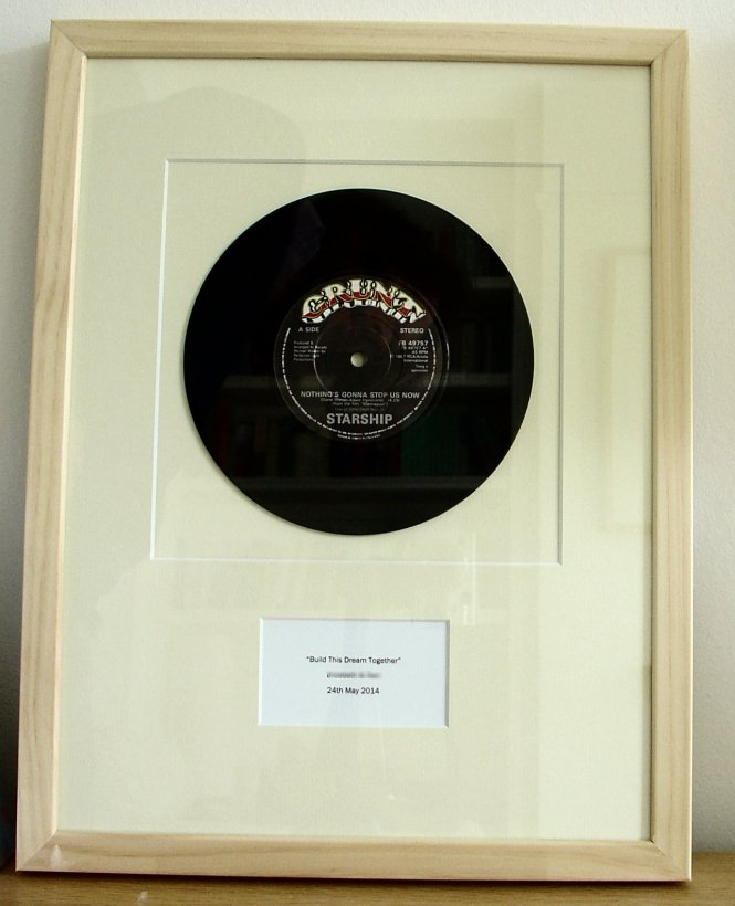 Starship Nothing S Gonna Stop Us Now May 1987 Framed