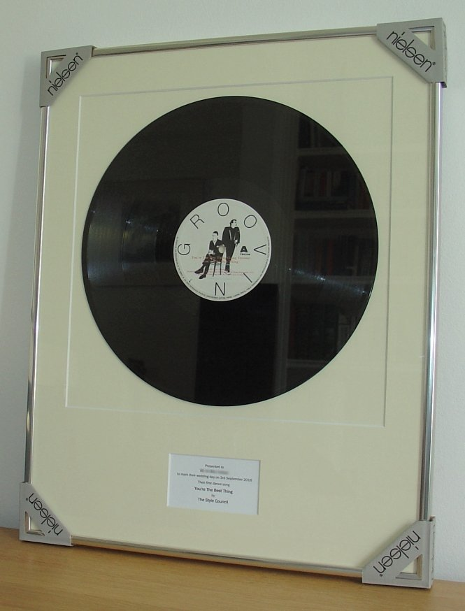 Style Council You Re The Best Thing Framed Vinyl
