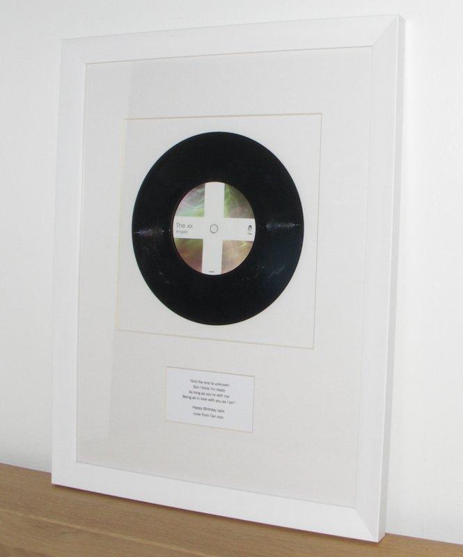 Xx Angels Framed Vinyl